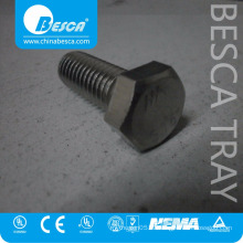 Zinc Plated Iron Steel Hex Bolt And Nut Supplier